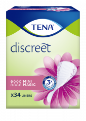 TENA DISCREET MINI MAGIC 34 KPL